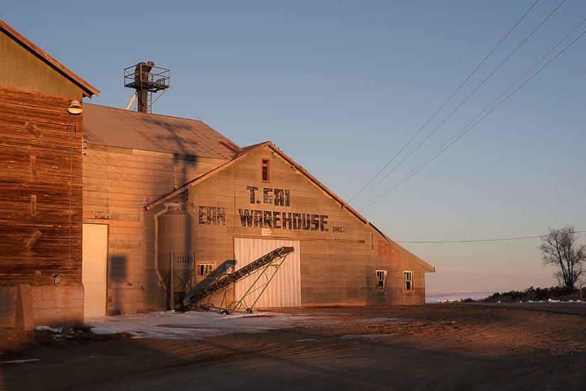 Bean warehouse; Yellow Jacket, CO